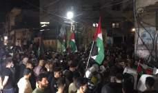 مسيرة سيارة جابت شوارع بيروت وصور وصيدا دعما لانتفاضة القدس
