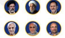 النتائج الأولية تظهر حصول روحاني على 21 مليون صوت مقابل 14 مليون لرئيسي