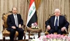 الرئيس عون: موقف لبنان موحد وصارم إزاء تهديدات وإستفزازات إسرائيل