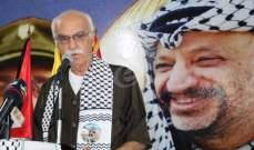 شناعة أكد أهمية تحقيق الوحدة وإنهاء الانقسام: لإجراء الانتخابات بكل الأماكن الفلسطينية