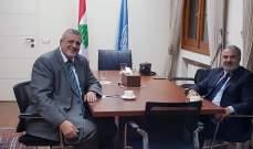 يان كوبيتش: نأمل استقرار الأوضاع السياسية والاقتصادية في لبنان