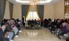 الحريري استقبلت أهالي موقوفي أحداث عبرا
