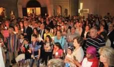 نعوس يترأس رتبة الهجمة الموحدة في كنيسة مار الياس الرابية بحضور مقبل