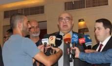 حمدان للرئيس عون: أضرب بيد من حديد وليكن اللقاء التشاوري لمكافحة الفساد