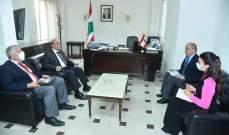 وزير الخارجية بحث مع سفير إسبانيا بالتحضيرات لزيارة نظيره لبنان الأسبوع المقبل