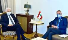حتي يستقبل رئيس بعثة اللجنة الدولية للصليب الأحمر
