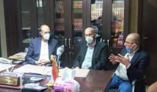 حسن يزور بلدة المرج البقاعية ويطالب اهلها بالتزام توجيهات وزارة الصحة