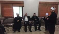 أرسلان أوفد جابر لزيارة الشيخ جربوع والأطرش وفعاليات في السويداء