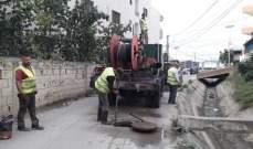 النشرة: مصلحة الليطاني أطلقت مشروع تنظيف مجاري الصرف الصحي على الطريق الساحلي بالجنوب