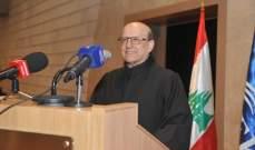 الاب حبيقة: لبنان الان بين الألم واليأس والولادة الجديدة
