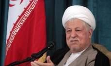 التايمز: الايرانيون يهتفون ضد النظام الايراني في تشييع رفسنجاني