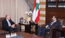 الحريري عرض الأوضاع مع سفير أوستراليا والشعار