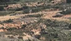 الجيش الاسرائيلي أطلق 15 طلقة نارية بخراج ميس الجبل لإرهاب المزارعين