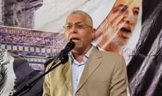 مسؤول بحماس: الفلسطينيون يثبتون للعالم انهم يواجهون الإرهاب الإسرائيلي باللحم الحي
