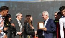 افتتاح مركز بيروت الاقليمي للدفاع المدني في منطقة الكولا