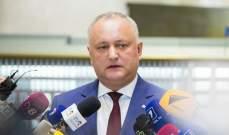 رئيس مولدوفا يتهم أحد أبرز منافسيه السياسيين بمحاولة لاغتياله