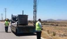 عودة الكهرباء إلى قرية أم باطنة وجوارها بريف القنيطرة بعد انقطاع لـ6 سنوات
