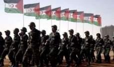 جبهة البوليساريو: قواتنا استهدفت مواقع تمركز القوات المغربية خلف الجدار العازل في الصحراء