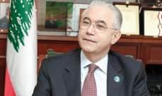 حوري: الموقفان السعودي والقطري يحملان لبنان مسؤولية
