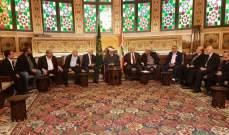 المفتي دريان التقى سفير منظمة فرسان مالطا ورئيس جمعية المقاصد والمرابطون
