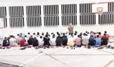 أمين سر هيئة رعاية السجناء أقام صلاة وخطبتي عيد الاضحى في سجن رومية
