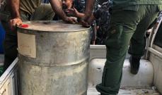 بلدية بيروت:ضبط كميات مواد بترولية سريعة الاشتعال بطريق الجديدة وتم نقلها لمكان آمن