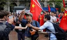 شرطة هونغ كونغ: جريحان بحالة خطرة اثر الاشتبكات مع الحتجين المناهضين للحكومة