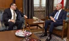 السفير المصري في لبنان: دقت ساعة التكليف والتأليف