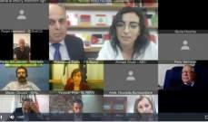 لقاء الكتروني لتجمع صناعيي البقاع وجمعية الصناعيين ورعاية سفيرة إيطاليا