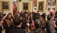 توقف جلسة الكونغرس الخاصة بعد وصول متظاهرين مؤيدين لترامب إلى مقره