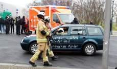 سيارة تصطدم ببوابة مقر المستشارة الألمانية في برلين