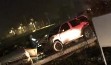 جريحان في حادث سير على طريق الضنية طرابلس