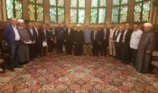 دريان التقى ائتلاف المؤسسات الإغاثية في لبنان