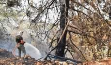 إندلاع حريق كبير في محلة المنصف وعناصر الدفاع المدني تعمل على اخماده