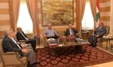 المشنوق استقبل نواب بعبدا والاعور:وعدنا باجراءالانتخابات البلدية قريبا