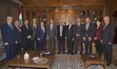 بري التقى مجلس نقابة الصيادلة الجديد برئاسة النقيب غسان الامين