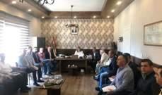 اجتماع في قائمقامية بشري لإتخاذ تدابير لتنظيم الوجود السوري