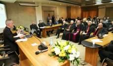 محاضرة لطلاب كلية القانون الكنسي في جامعة الحكمة