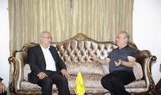 """وهاب بعد لقائه قماطي: هدوء الجبل فيه مصلحة للجميع بما فيهم """"حزب الله"""""""