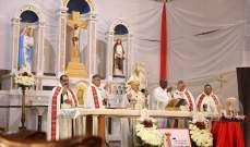 بشري استقبلت ذخائر القديس يوحنا بولس الثاني والقديسة فوستينا والطوباوي سوبوتشكو