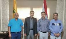 وفد من الجمعيات الأهلية في مدينة صور التقى النائب حسن عز الدين