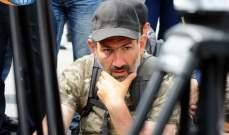 شرطة أرمينيا تعتقل نيكول باشينيان زعيم الحركة الاحتجاجية