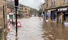 إلغاء رحلات جوية ومخاوف من فيضانات في اوروبا بسبب العاصفة كيارا