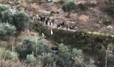 النشرة: جريح نتيجة انقلاب شاحنة محملة بالمازوت الى واد في بلدة طيردبا الجنوبية