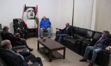حمدان التقى وفداً من التنظيم الشعبي الناصري