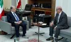 الرئيس عون استقبل كدانيان وبانو وجرجورة حردان