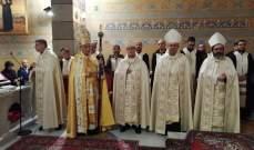 الراعي ترأس قداسا في روما أعلن خلاله المطران الورشا معتمدا بطريركيا لدى الفاتيكان