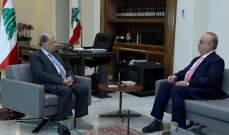 وهاب بعد لقاء رئيس الجمهورية: عون كان واضحاً بأن المهلة لتشكيل الحكومة إنتهت