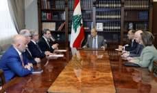 الرئيس عون عرض مع أبو فاعور واقع الصناعة ومطالب القطاع الصناعي