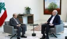 الرئيس عون يلتقي ميقاتي قبيل اجتماع المجلس الأعلى للدفاع في قصر بعبدا